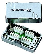 Connection box, metallic