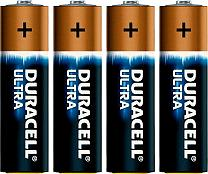 DURACELL Ultra M3 R6-batteri 4-pack